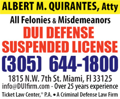 Miami DUI Manslaughter Lawyer
